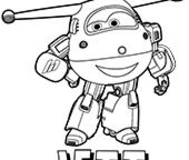 Free Super Wings Coloring Pages For Children