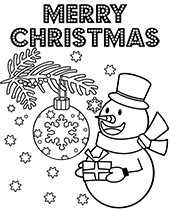 Christmas Coloring Pages Printable Topcoloringpages Net
