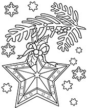 Christmas coloring pages with Santa, sheets for children