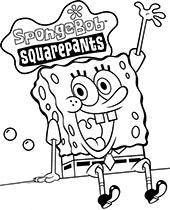 SpongeBob printable coloring pages, sheets with Patrick Star