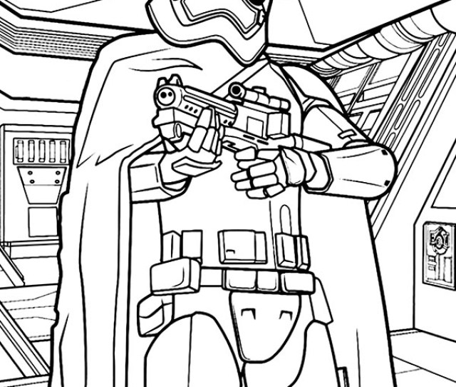 Stormtrooper Coloring Sheet Star Wars To Print Or Download For Free