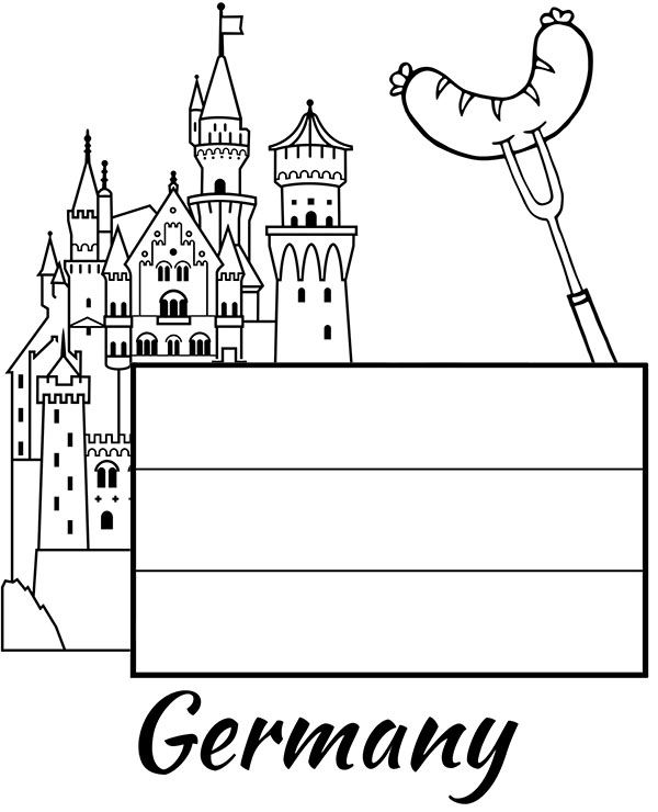 Germany Coloring Pages