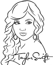 Famous singers coloring pages with pop stars Topcoloringpages