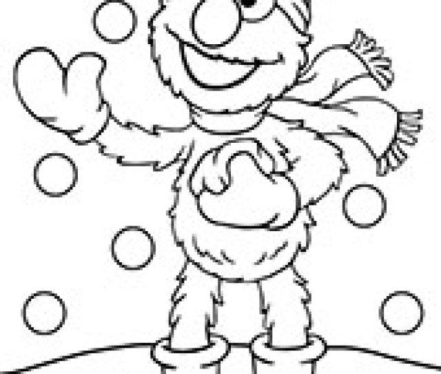 Winter Coloring Pages For Kids With Snowman On Topcoloringpages