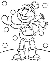 Printable Winter Coloring Pages Topcoloringpages Net
