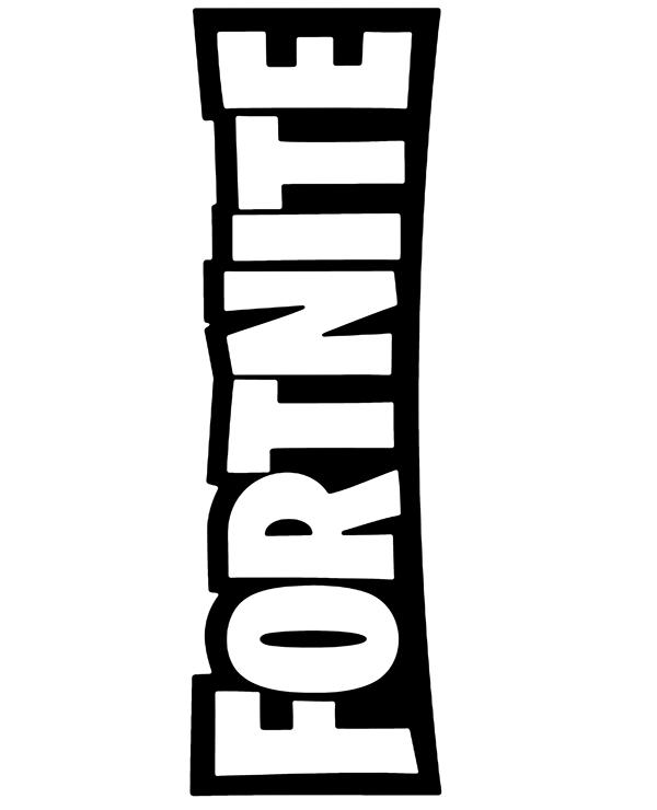 Fortnite Png Logo : fortnite, Fortnite, Print, Topcoloringpages.net