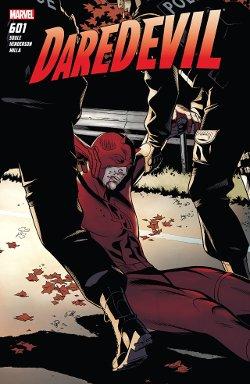 Daredevil 601 couverture