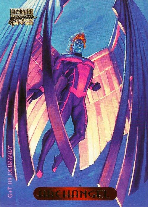 Marvel Masterpieces 1994 Archangel