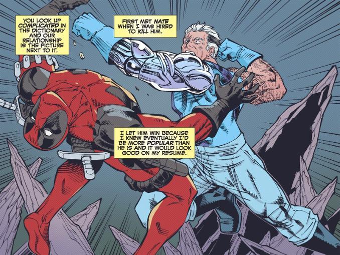 Deadpool – Fraction de seconde couverture