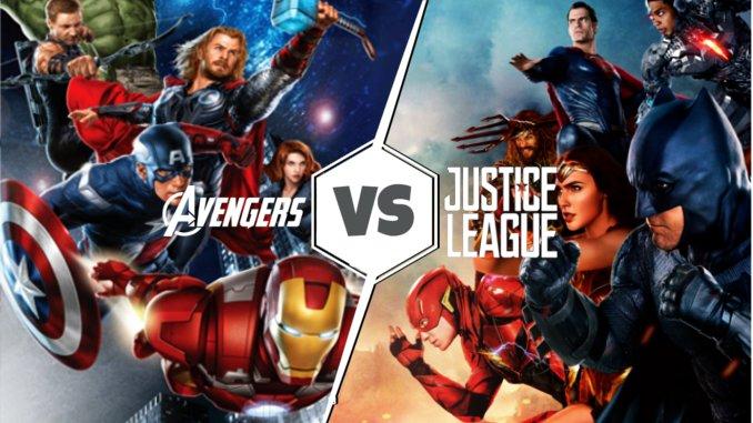 Avengers vs Justice League le match