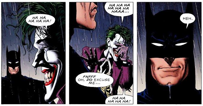 Batmen se marre avec le Joker