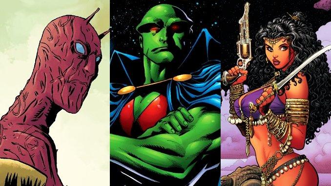 personnages de comics venus de Mars
