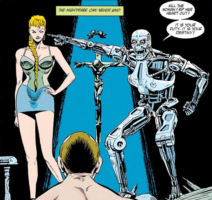 comics terminator enemy within
