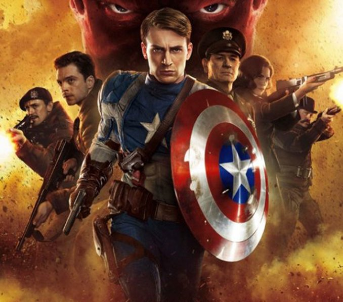 inspiration films Marvel MCU Captain America First Avengers