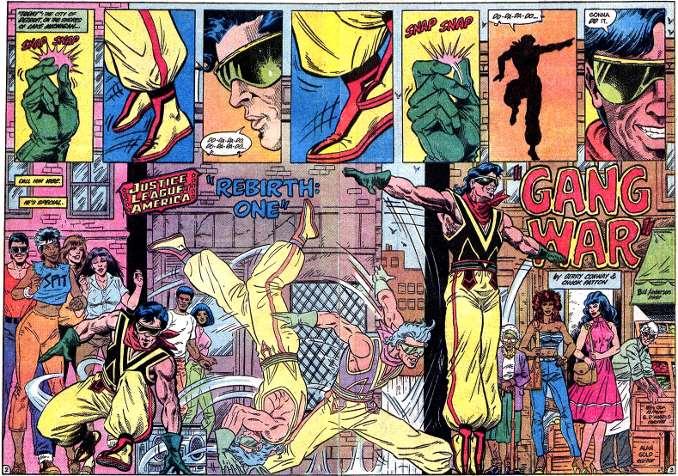 Vibe superhéros oublié Justice League