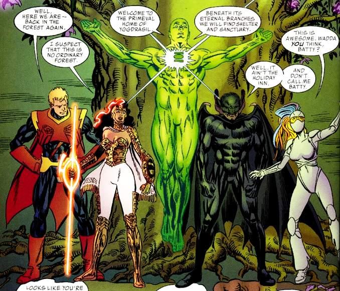 Stan Lee chez DC Comics Just Imagine
