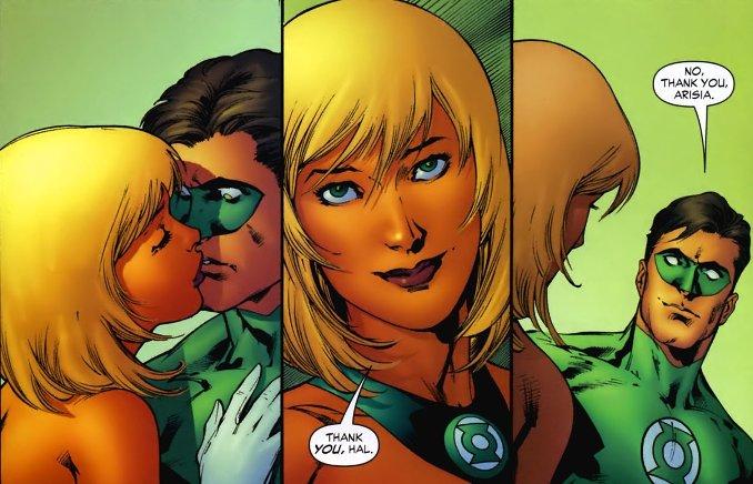 Green Lantern Asiria Rrab