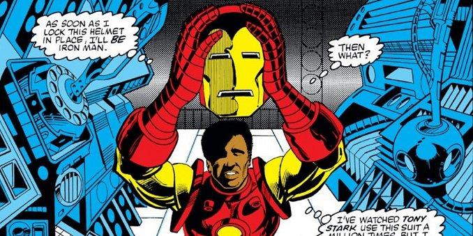 James Rhodes Iron Man