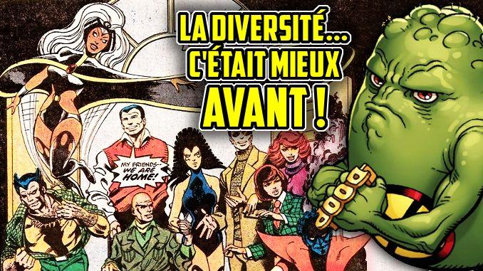 diversité dans les comics