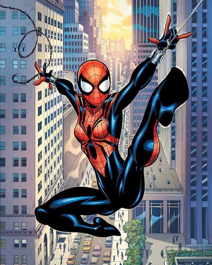 enfant spider-man spider-girl