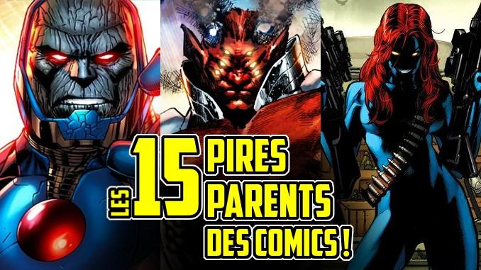 pire parents superhéros comics