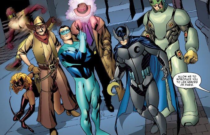 heros de paris personnages comics français france
