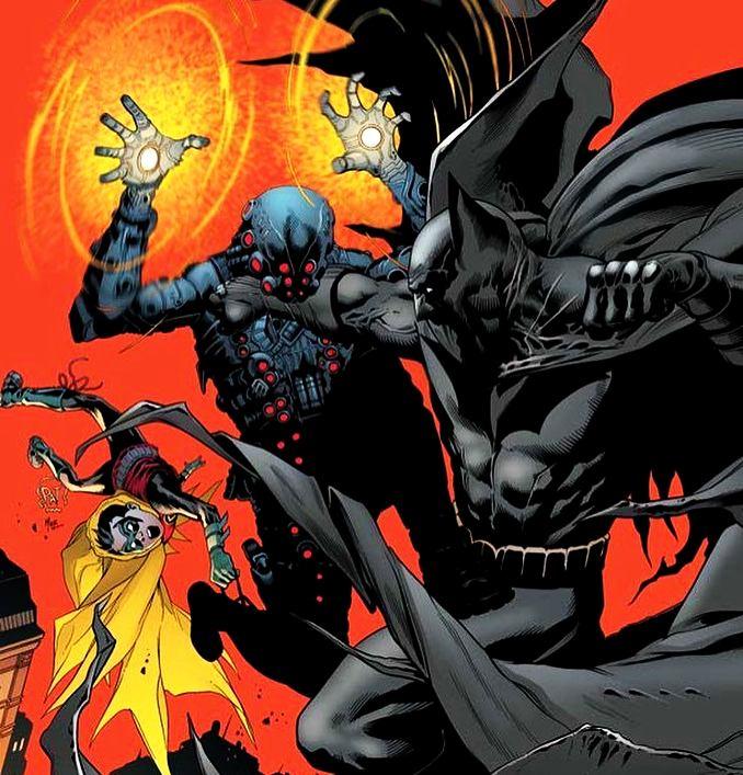 combat Batman personne