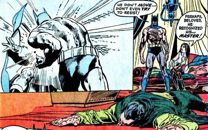 combat Batman Ras al ghul