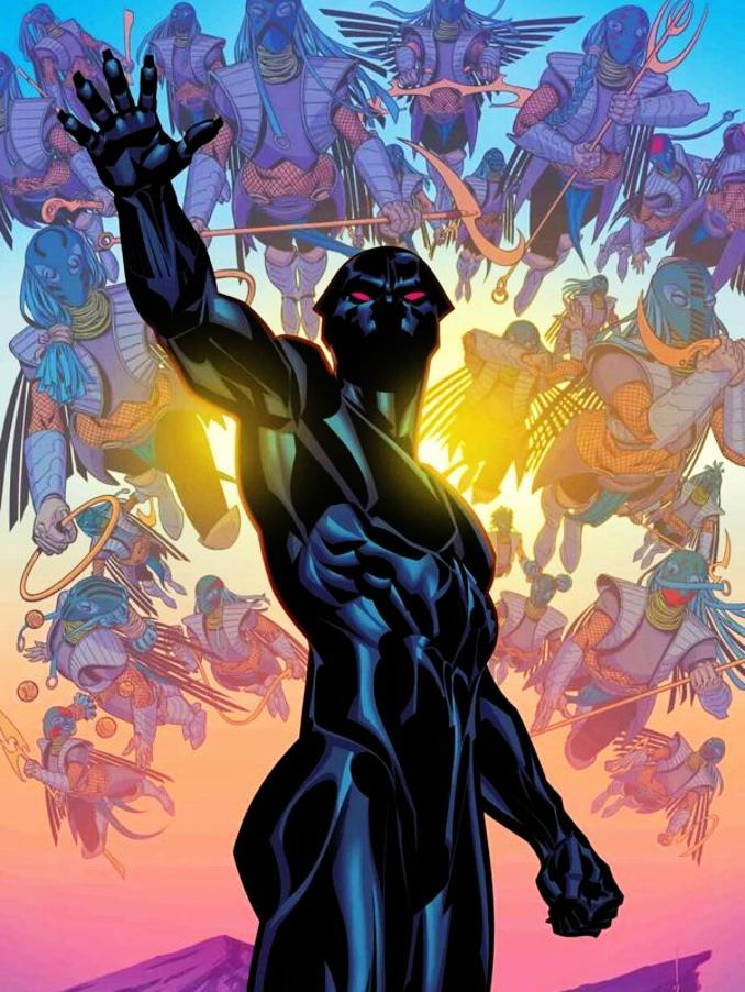 héros importants Black Panther