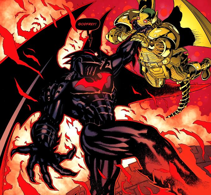 Batman armure costume hellcat