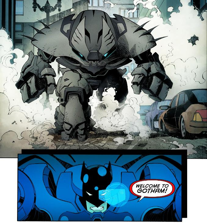 Batman armure costume