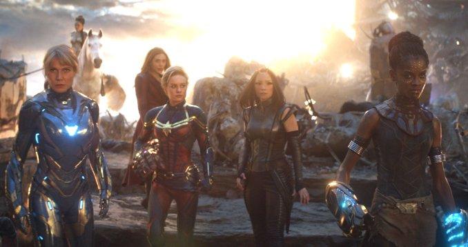 heroines avengers endgame