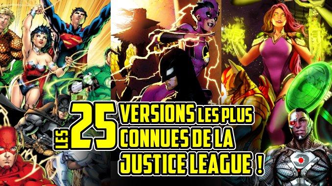 versions Justice League