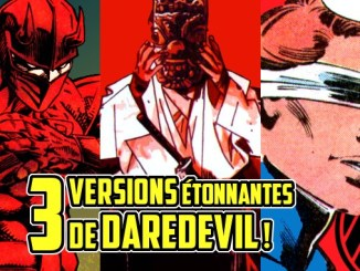 versions alternatives Daredevil