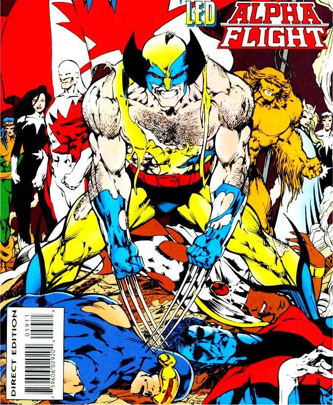 what if Wolverine Alpha Flight