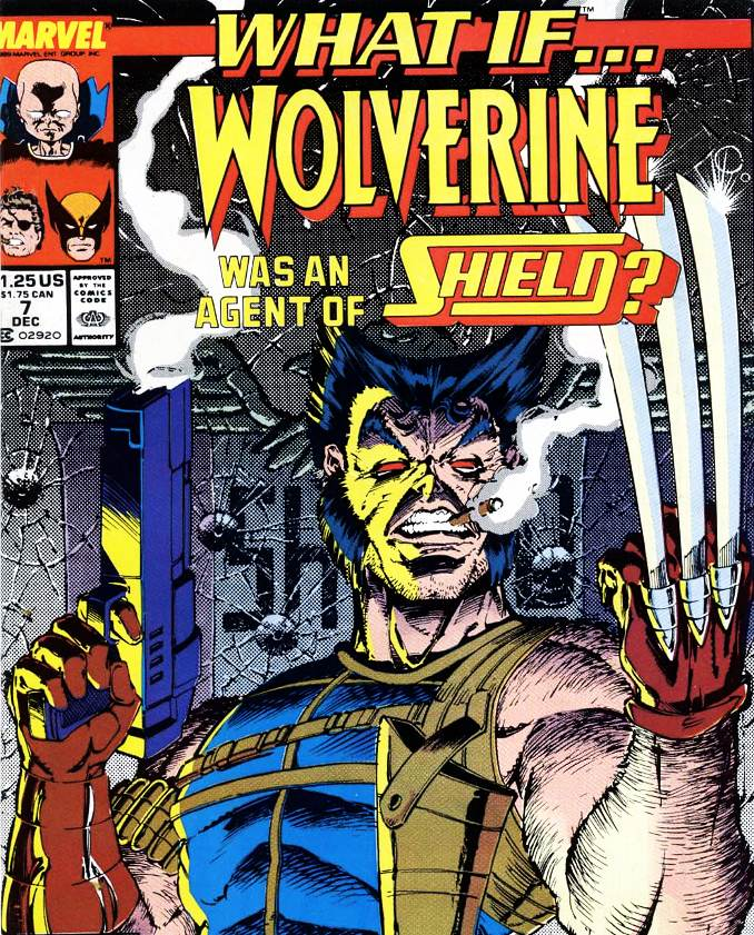 what if Wolverine SHIELD