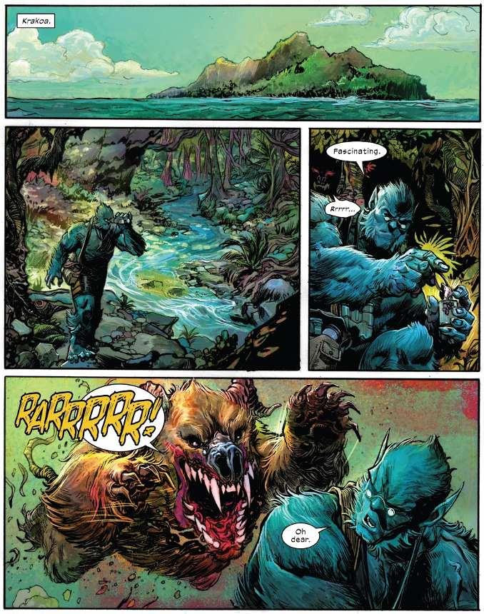 X-Force 1 ile de krakoa le fauve