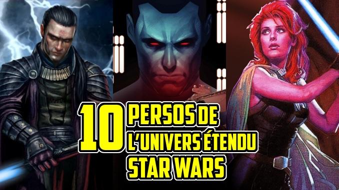 personnages Star Wars legende