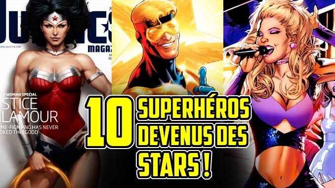 superhéros stars