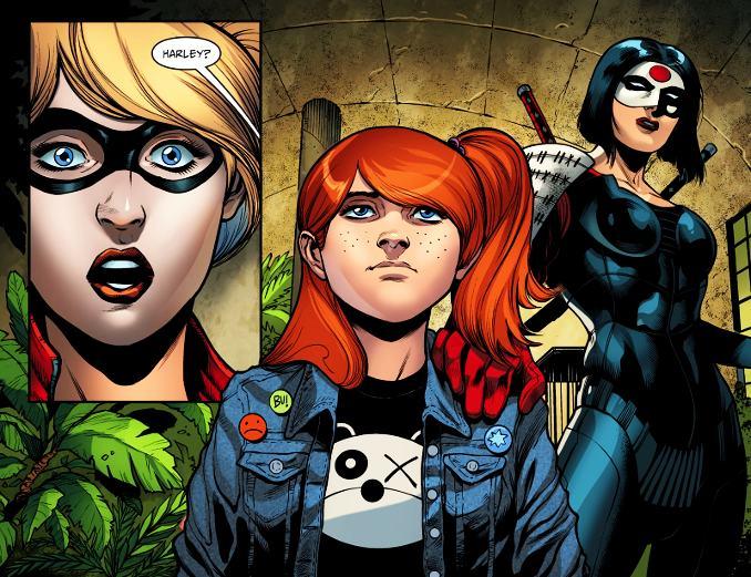 secrets Harley Quinn filles cachée