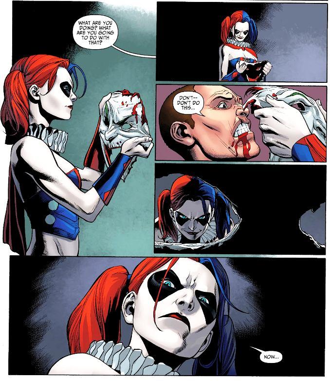secrets Harley Quinn jeux pervers