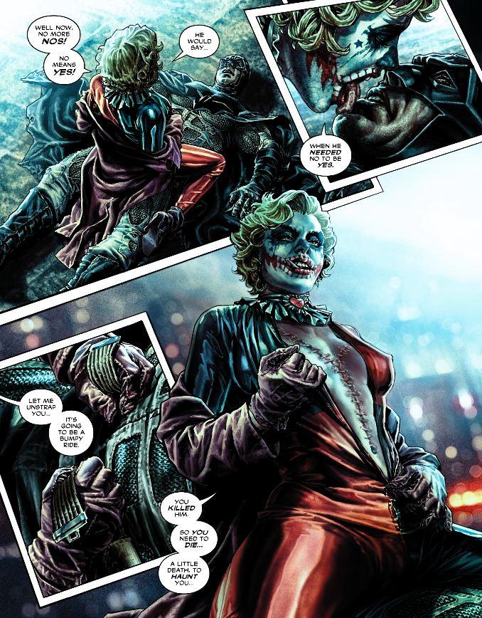 secrets Harley Quinn viol batman