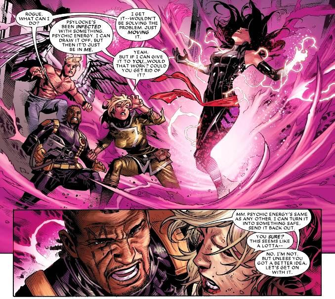 astonishing x-Men la vie en rose