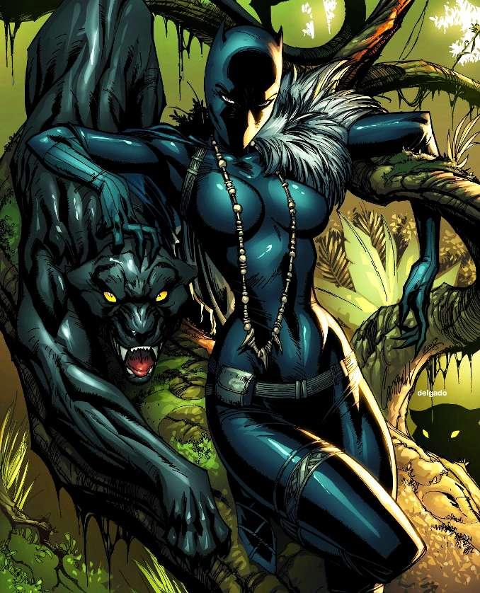Panthère noire black panther shuri