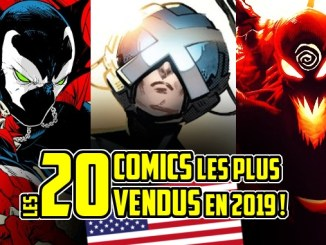 comics plus vendus 2019