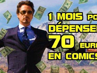 selection budget comics 70 euros janvier 2020