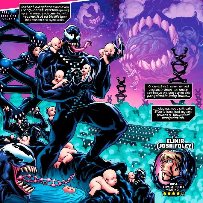 Venom the end bébés
