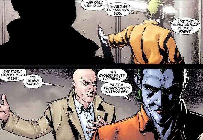 Les plans de Lex Luthor et du Joker