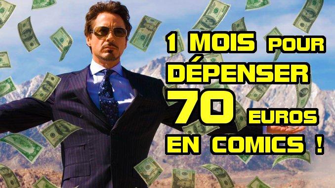 sélection budget comics 70 euros mars 2020