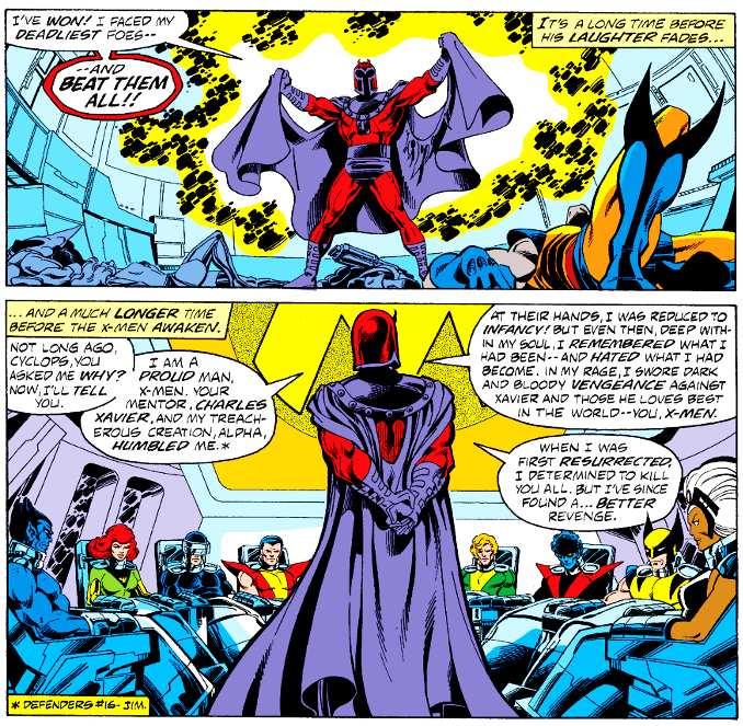 X-men vaincus battus